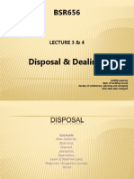 BSR656 Lecture 4 & 5 (Disposal and Dealings)