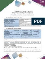 Guía de actividades y rubrica de evaluación - Tarea 3-Elaborar plan de acción institucional.