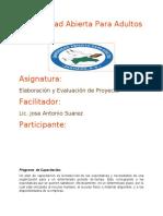TEMA IV PROGRAMA DE CAPACITACION
