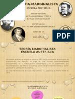 TEORÌA MARGINALISTA - ESCUELA AUSTRIACA