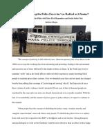 blog post on abolishing police