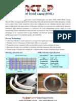 ACT&P Metal Lining Tube