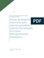 Núcleo de diagnóstico veterinario para especies ganaderas y especies de compañía en la Zona Metropolitana de Guadalajara.pdf