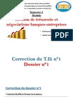 TD N°1 - Corrigé