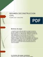 REGIMEN DECONSTRUCCION CIVIL