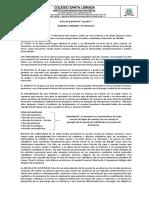 Guía de actividades N° 4 Español Grado 7°