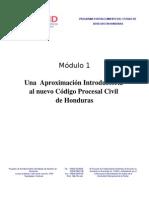 Módulo 1 Una Aproximación Introductoria al Código Procesal Civil