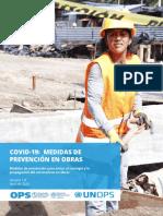 Medidas de Prevención en Obras