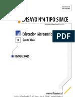 ENSAYO4_SIMCE_MATEMATICA_4BASICO_2014_FORMA_B