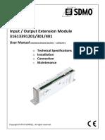 APM802 - User Manual Input Output_MAN31613391201-301-401_EN
