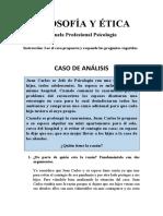 CASO DE ANÁLISIS DE FILOSOFÍA