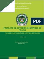 Guía de aprendizaje 1. SERVICIO DE POLICIA 2