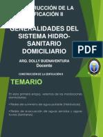 2. GENERALIDADES DEL SISTEMA HIDRO - SANITARIO DOMICILIARIO classroom (1)