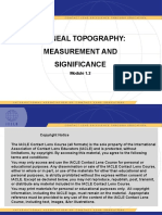 Corneal Topography Measurement & Significance Module 1.2_FINAL.pptx