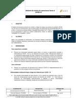 2020 - Protocolo  Reinicio de Operaciones frente al COVID 19