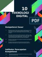 10.TEKNOLOGI DIGITAL