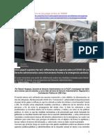 Emergencia Sanitaria-COVID19 y el Derecho Administrativo