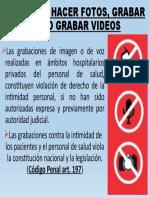 PROHIBIDO HACER FOTOS, GRABAR VOZ O GRABAR.pptx