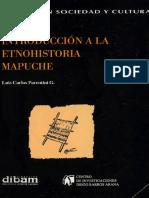 Introduccion a la etnohistoria mapuche