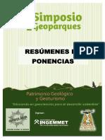 TEXTO DE RESÚMENES - SIMPOSIO DE GEOPARQUES