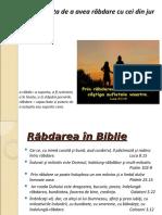Rabdarea lectie religie cls 3