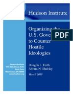 Counter Hostile Ideologies Neocon Hudson Institute Plan Feith & Shulsky