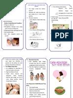 Leaflet Teknik Menyusui Yg Benar