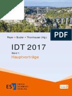 IDT 2017 Band 1