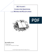 365 Character Questions