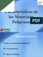 Caracteristicas de Los Materiales Peligrosos1
