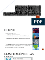 FÍSICA - PPT ONDAS Y SU CLASIFICACIÓN