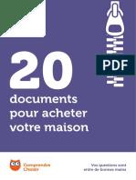 Introduction documents d'achat de maison