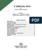 The Spiritual Path - Swami Yatiswarananda.pdf