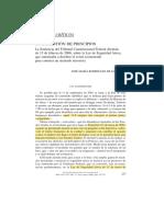 José María Rodríguez de Santiago - Una cuestión de principios