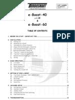 Turbo Smart eBoost Manual