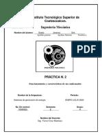 Funcionamiento y características de un condensador.