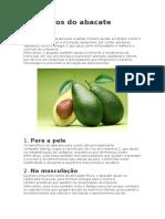Benefícios do abacate.docx