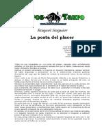 Saguier, Raquel - La Posta Del Placer.doc