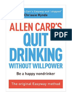 Allen Carrs Quit Drinking Without Willpo