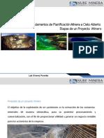 Nube Minera Planificacion Open Pit   01 Etapas de un Proyecto Minero.pptx