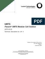 Flexent® UMTS Release 03.03 Modular Cell Outdoor Technical Description +24 V