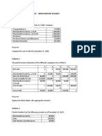Exercise 2 Income Statement - Merchandising.docx