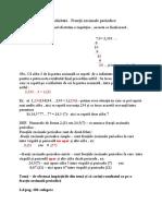 Periodicitate