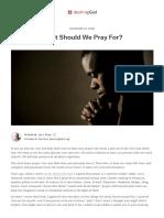 What Should We Pray For_ _ Desiring God