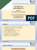 Chapter 2_Vector Algebra  Vector Mechanics