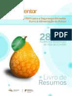 1º Simpósio INIAV para a Segurança Alimentar - Livro de Resusmos.pdf