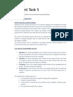 BSBINN601 Assessment 5