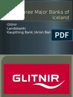 Three Major Banks of Iceland