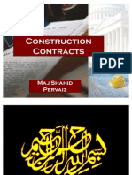 Construction Contracts - Legal Engg (Sp)
