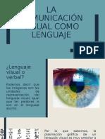 La comunicación visual como lenguaje
